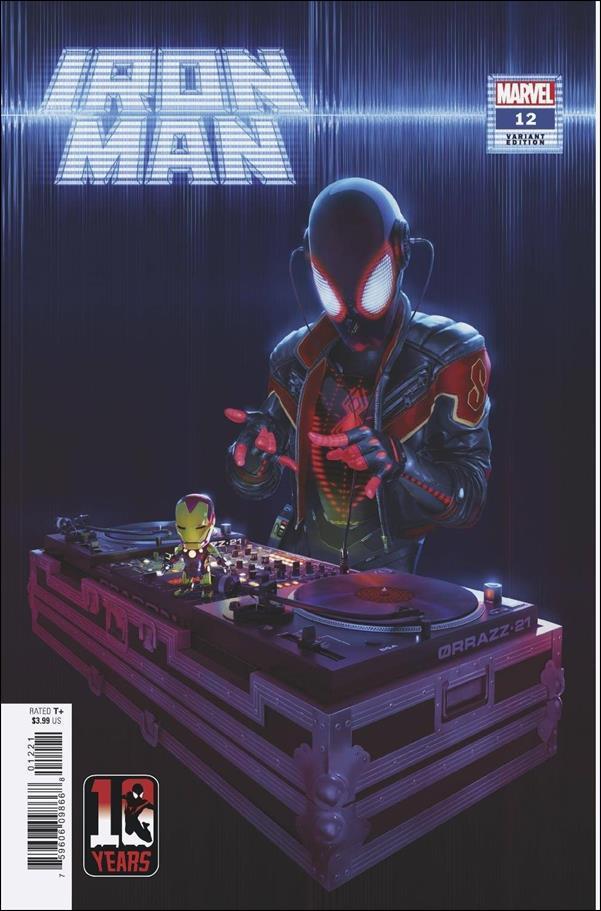 Iron Man (2020) 12-B by Marvel