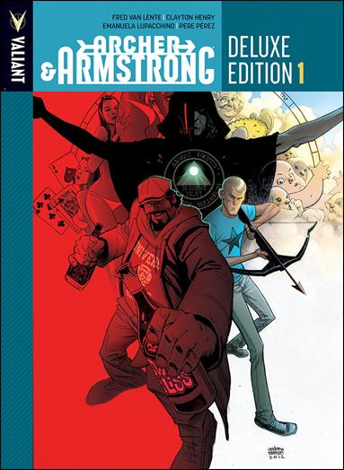 Archer & Armstrong Deluxe Edition 1-A by Valiant Entertainment