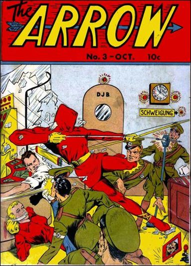 Arrow (1940) 3-A by Centaur Publications Inc.