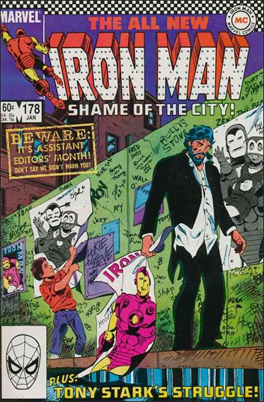 Iron Man (1968) 178-A by Marvel