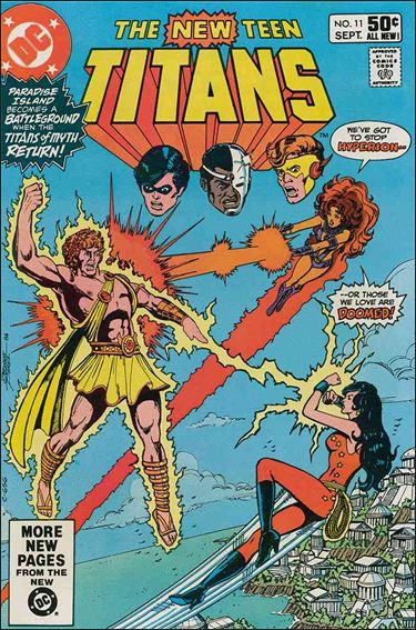 New Teen Titans (1980) 11-A by DC
