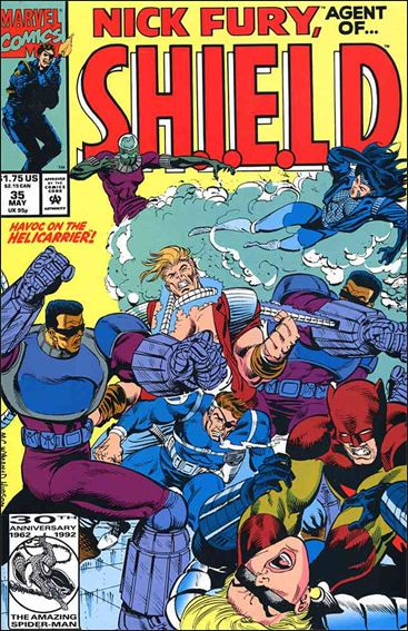 Nick Fury, Agent of S.H.I.E.L.D. (1989) 35-A by Marvel
