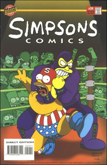 Simpsons Comics 29-A by Bongo