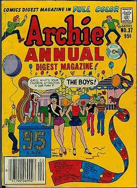 Archie Annual Digest Magazine 37-A by Archie