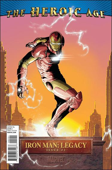 Iron Man Legacy 2-B by Marvel