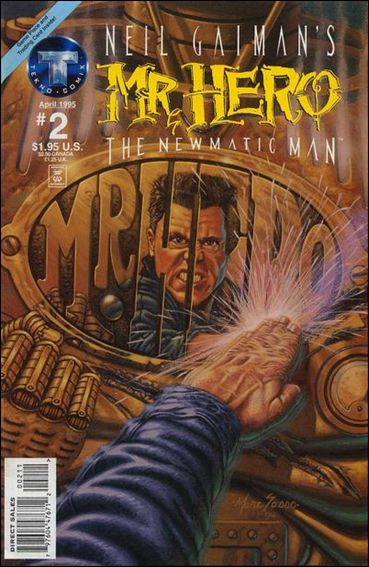 Neil Gaiman's Mr. Hero: The Newmatic Man (1995) 2-A by Tekno•Comix