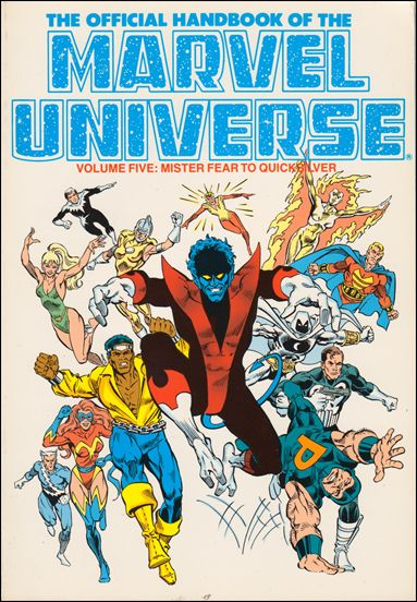 Official Handbook of the Marvel Universe 5-C by Marvel