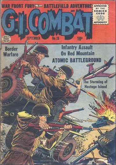 G.I. Combat (1952) 28-A by DC