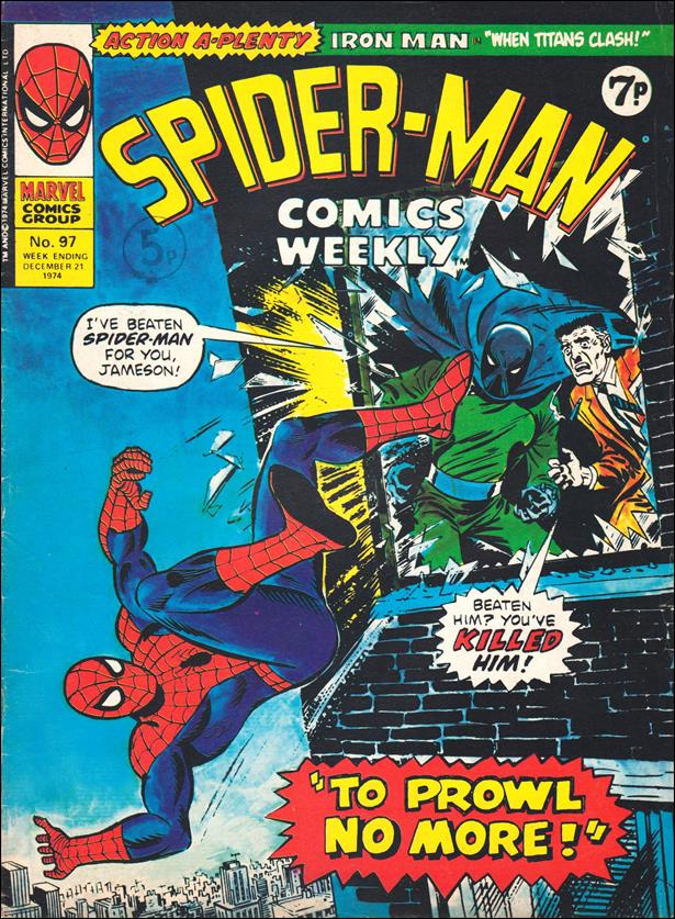 Spider-Man: Comics Weekly (UK) 97-A by Marvel UK