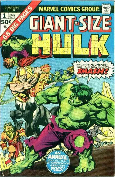 Giant-Size Hulk (1975) 1-A by Marvel