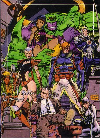 WildC.A.T.s: Set 1 (Promo) 1-A by Topps