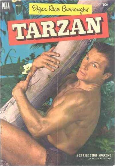 Tarzan (1948) 43-A by Dell
