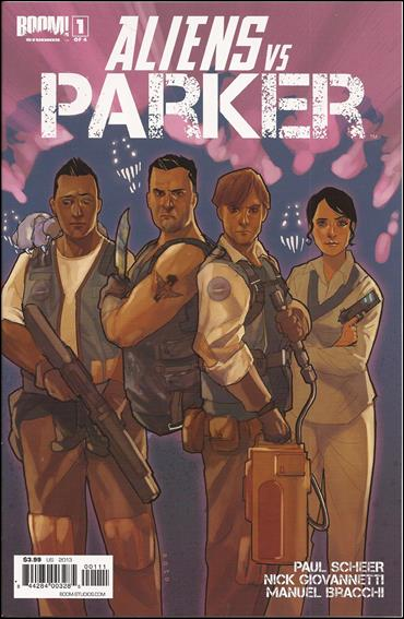 Aliens vs Parker 1-A by Boom! Studios
