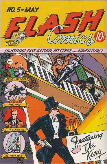 Flash Comics (1939) 5-A by DC