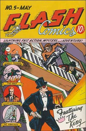 Flash Comics (1939) 5-A