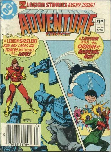 Adventure Comics (1938) 498-A by DC
