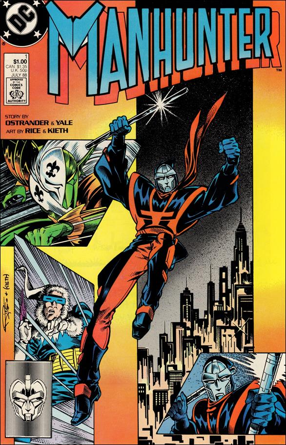 Manhunter (1988) 1-A by DC