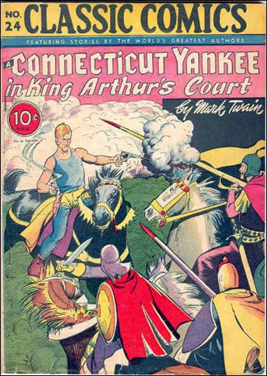 Classic Comics/Classics Illustrated 24-A by Gilberton