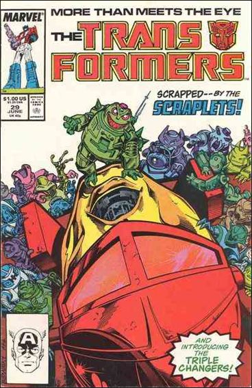 Transformers (1984) 29-A by Marvel