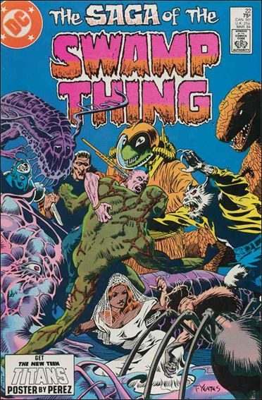 Saga of the Swamp Thing 22-A by DC