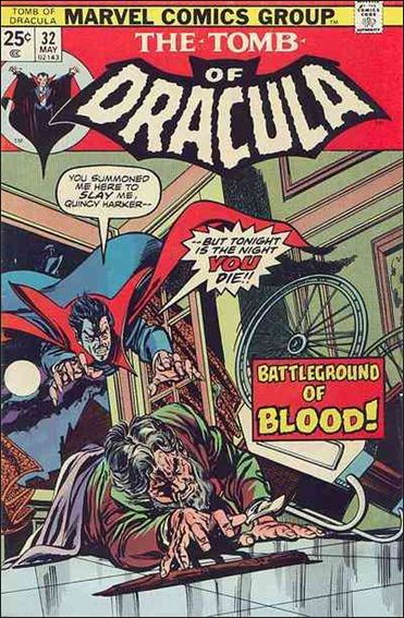 Tomb of Dracula (1972) 32-A by Marvel