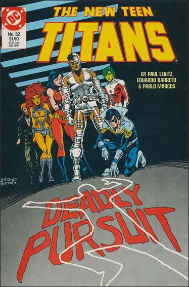 New Teen Titans (1984) 32-A by DC