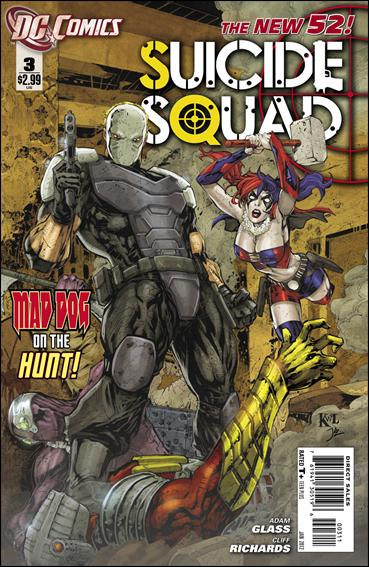 Suicide Squad (2011) 3-A by DC
