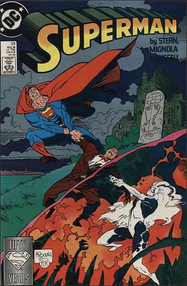 Superman (1987) 23-A by DC