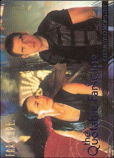 Farscape: Season Three (Quotable Farscape Subset) Q30-A by Rittenhouse