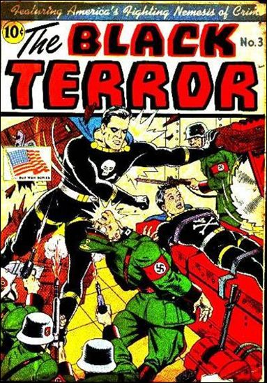 Black Terror (1942) 3-A by Nedor