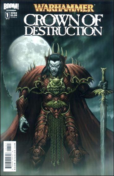 Warhammer: Crown of Destruction 1-B by Boom! Studios