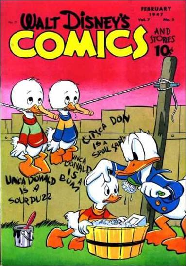 Walt Disney's Comics and Stories (1940) 77-A by Dell