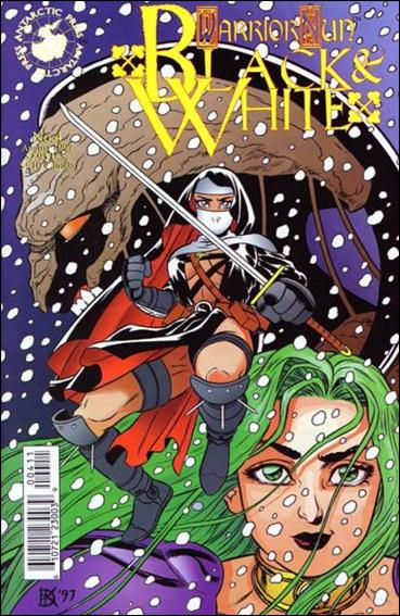 Warrior Nun: Black & White 4-A by Antarctic Press