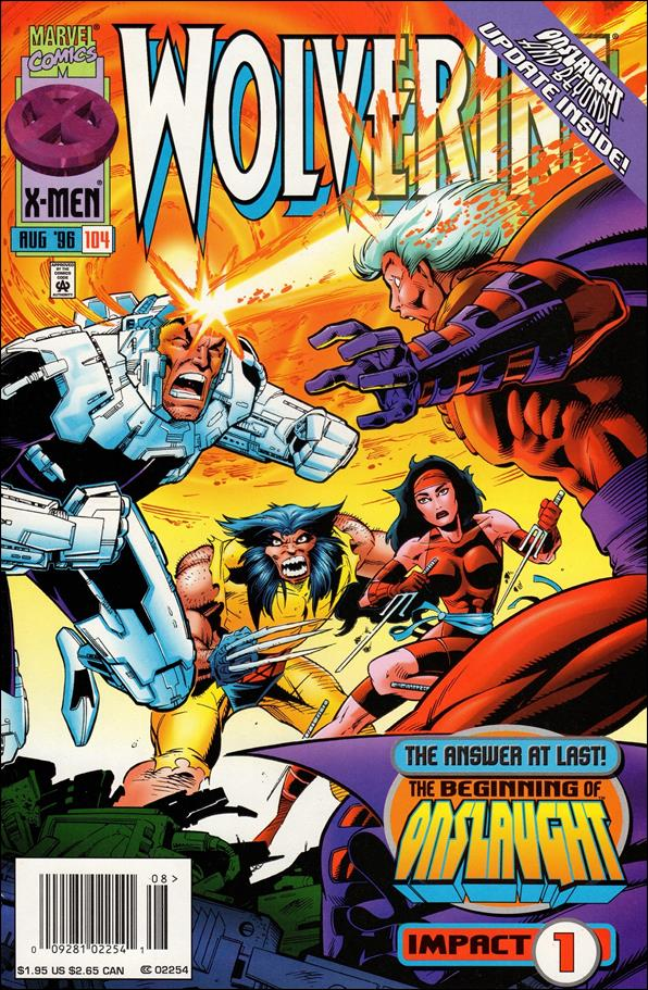 Wolverine (1988)  104-A by Marvel