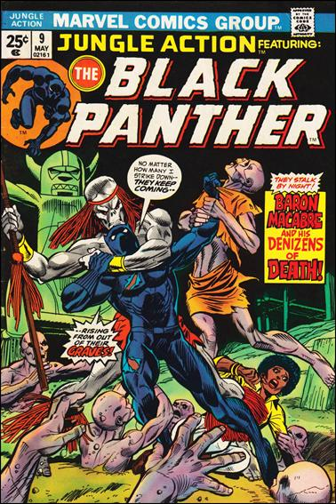 Jungle Action (1972) 9-A by Marvel