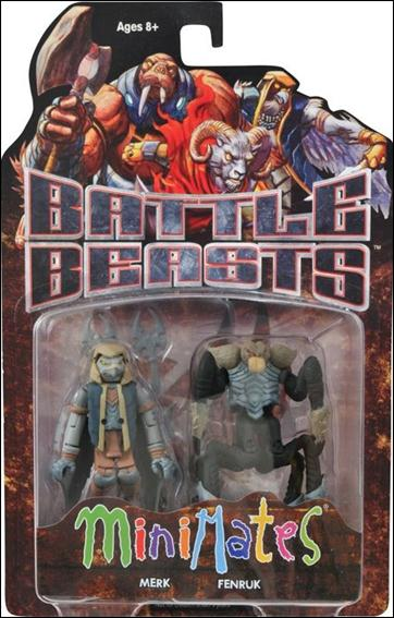 Battle Beasts Minimates Merk and Fenruk by Diamond Select