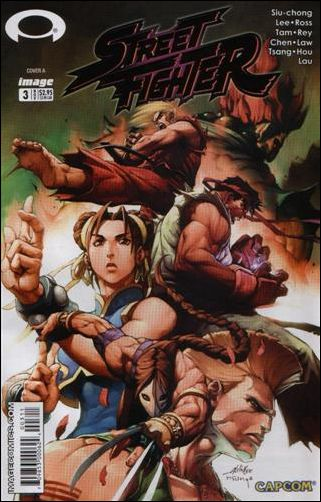 Street Fighter (2003) 3-D by Udon