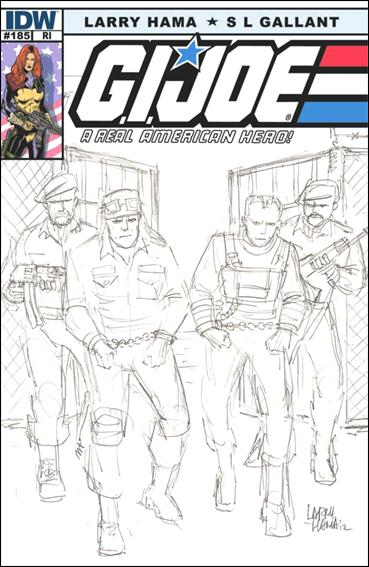 G.I. Joe: A Real American Hero 185-B by IDW