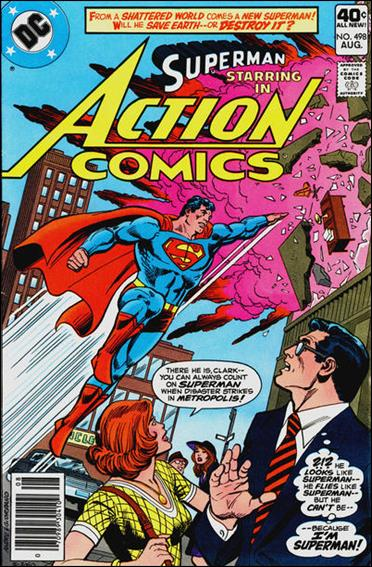 Action Comics (1938) 498-A by DC