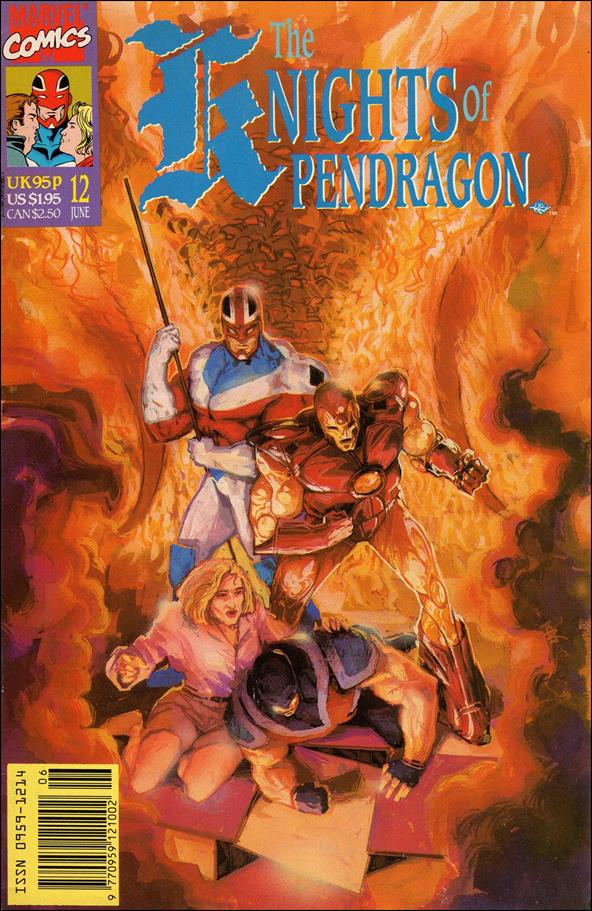 Knights of Pendragon (UK) (1990) 12-A by Marvel UK