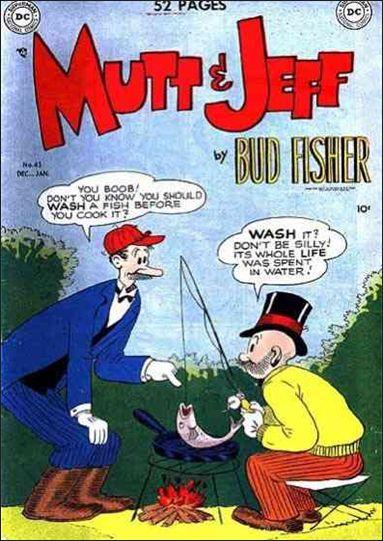 Mutt & Jeff 43-A by DC