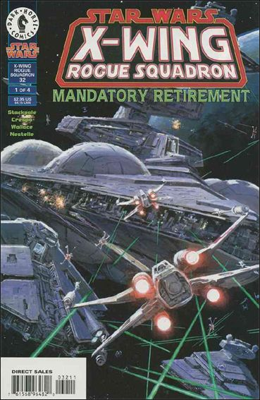 Star Wars: X-Wing Rogue Squadron 32-A by Dark Horse