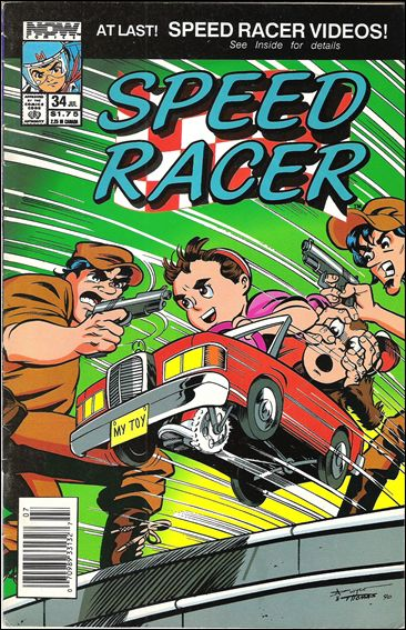 Speed Racer (1987) 34-A by Now Comics