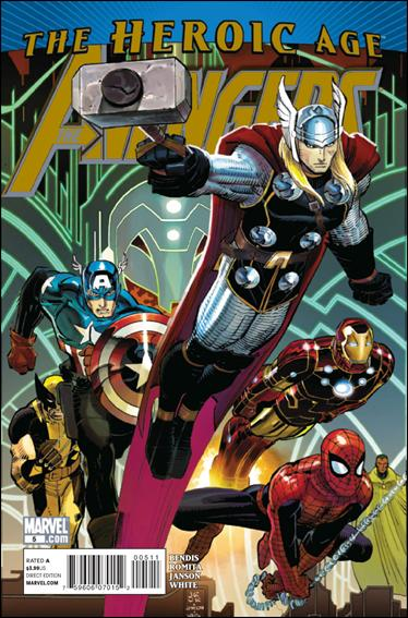 Avengers (2010) 5-A by Marvel