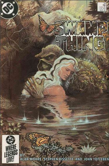 Saga of the Swamp Thing 34-A by DC