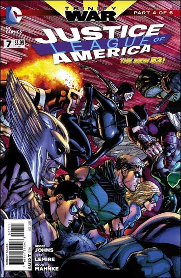 Justice League of America (2013)  7-A by DC
