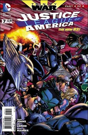 Justice League of America (2013)  7-A