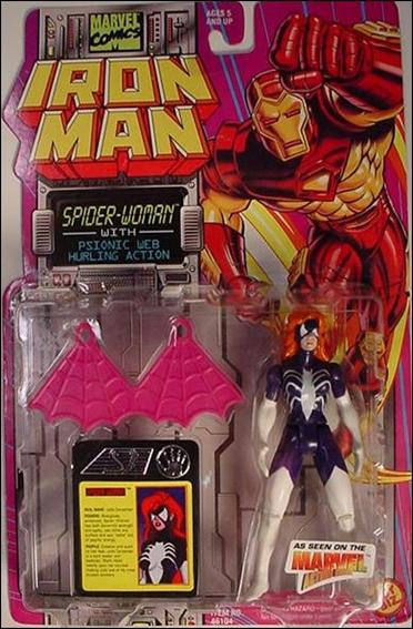 Iron Man (Animated) Spider-Woman by Toy Biz