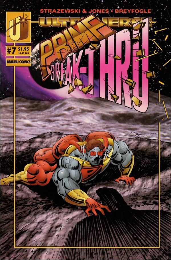 Prime (1993) 7-A by Malibu