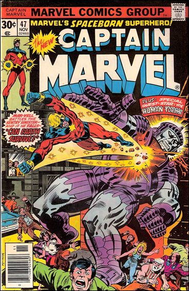 Captain Marvel (1968) 47-A by Marvel